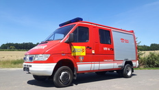 Mercedes Benz Sprinter 412D 4x4